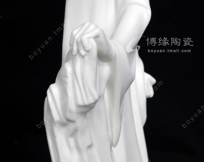 德化白瓷古典人物雕塑