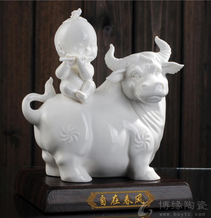 牛童,动物牛陶瓷